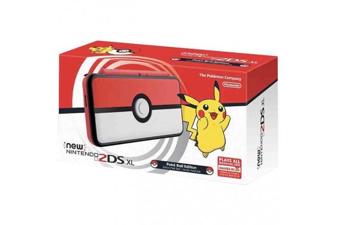 Consola Nintendo New 2DS XL Pokeball Edition-a