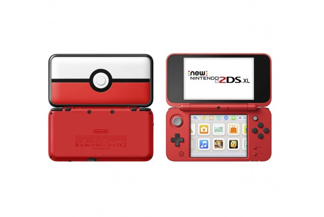 Consola Nintendo New 2DS XL Pokeball Edition-b