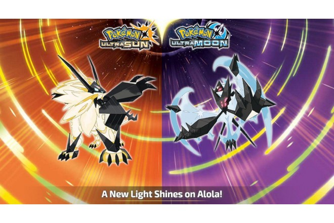 3DS Pokemon Ultra Sun & Moon Steelbook 2 Pack (2 games in 1)-b