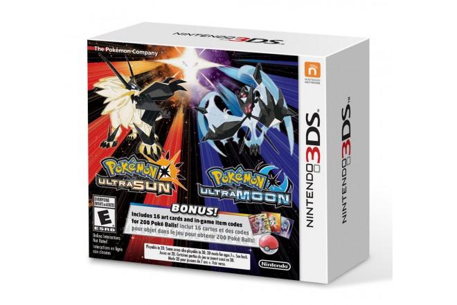 3DS Pokemon Ultra Sun & Moon Veteran Trainer 2 Pack