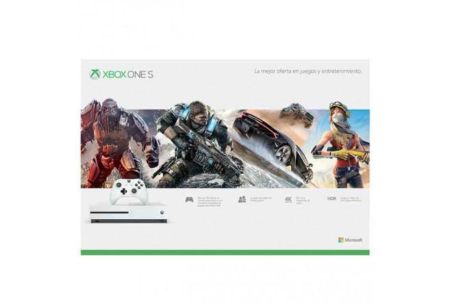 Consola XBOX ONE S 500GB + Videojuego Rocket League + 3 Meses