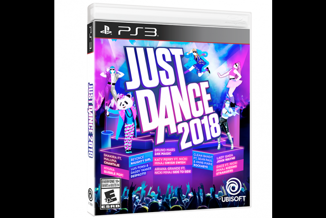 Videojuego PS3 Just Dance 2018-b