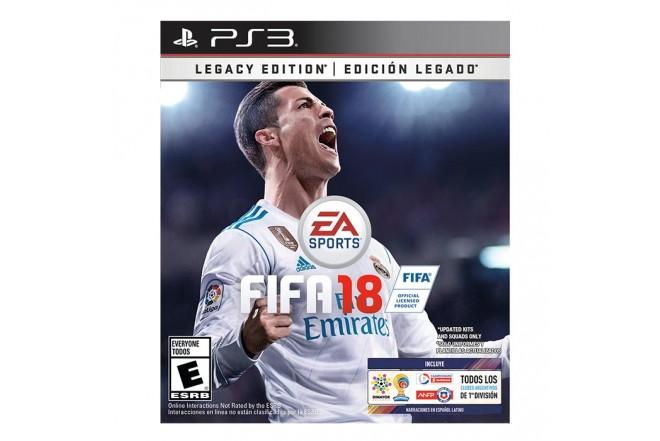 Videojuego PS3 FIFA 18 Edición Legado