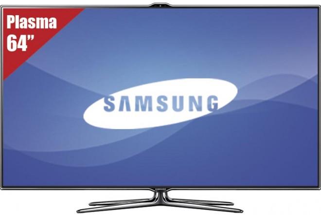 """TV 64"""" Plasma SAMSUNG PL64E8000 FHD"""