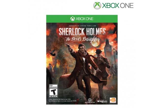 Videojuego XBOX ONE Sherlock Holmes Devi