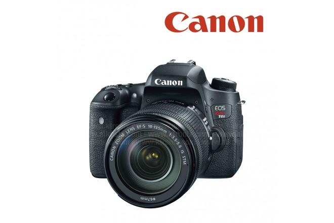 Cámara CANON Profesional T6s Negro