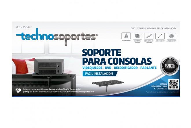 Soporte Ajustable para DVD y Consolas