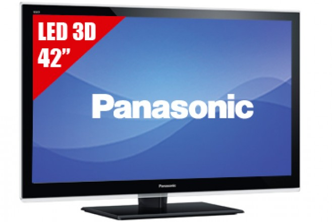 "TV 42"" LED PANASONIC 42ET5W FHD 3D"
