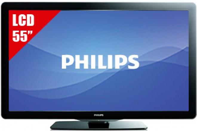 "TV 55"" LCD PHILIPS 55PFL3907 FHD"