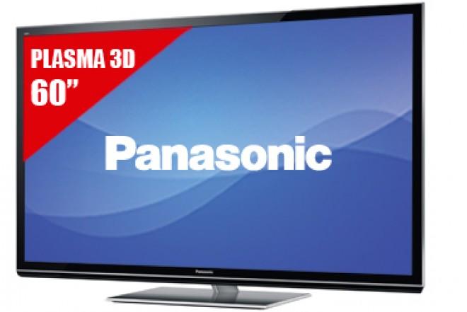 "TV 60"" Plasma PANASONIC 60GT50 FHD 3D"