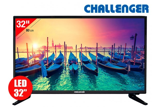 "Tv 32"" 80cm LED CHALLENGER 32M5 HD T2"