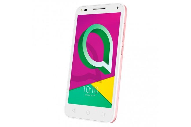Celular libre ALCATEL U5 Blanco y Rosado SS 3G