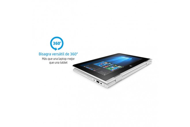 """Convertible 2 en 1 HP - AA032LA - Intel Celeron - 11.6"""" Pulgadas - Disco Duro 32GB - Blanco"""