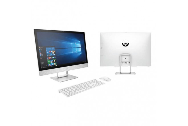 "PC All in One HP- 24-R005LA - AMD - 23.8"" Pulgadas – Disco Duro 1Tb – Blanco"