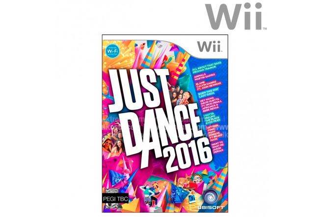 Videojuego Wii Just Dance 2016
