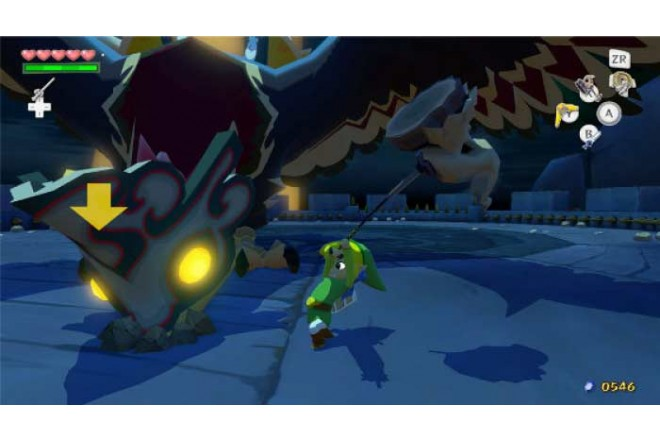 Videojuego Wii U Legend Of Zelda Wind Waker HD