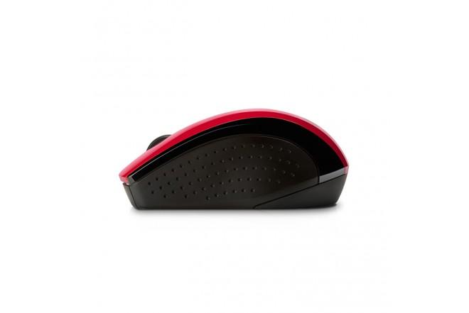 Mouse HP X3000 Inalámbrico Bliste Rojo