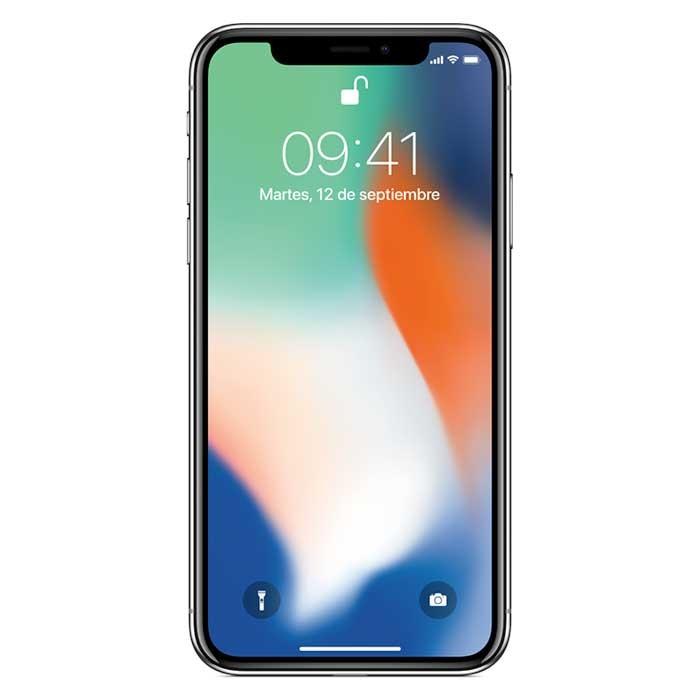 iPhone X 64GB SS Plateado Ktronix Tienda Online