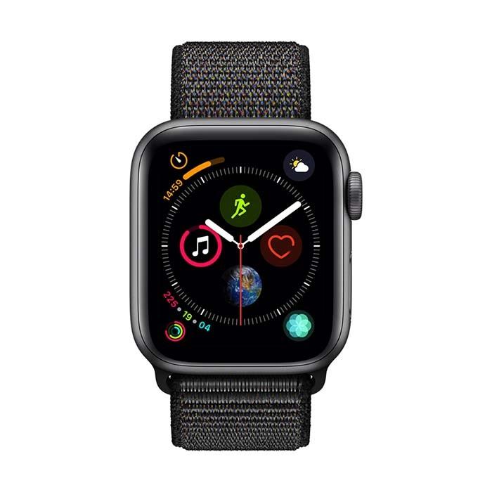 10ffcc1822f0 Reloj APPLE WATCH S4 GPS 40M Gris - Negro Sport Loop Ktronix Tienda ...