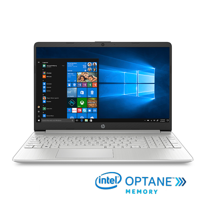 "Portátil HP 15-dy1005la Intel Core i5 15"" Pulgadas RAM 8GB  + 32 GB Optane Disco Sólido 512 GB Plata"