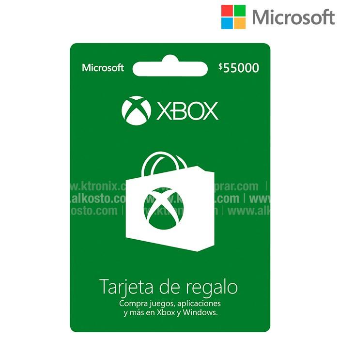 Tarjeta De Regalo Microsoft