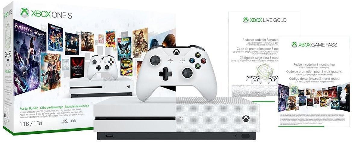 Consola Xbox One S 1 Tera 1 Control 3 Meses Gamepass 3 Meses