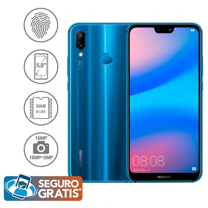 2d8370776a8 Celular Libre HUAWEI P20 Lite Azul DS 4G Ktronix Tienda Online