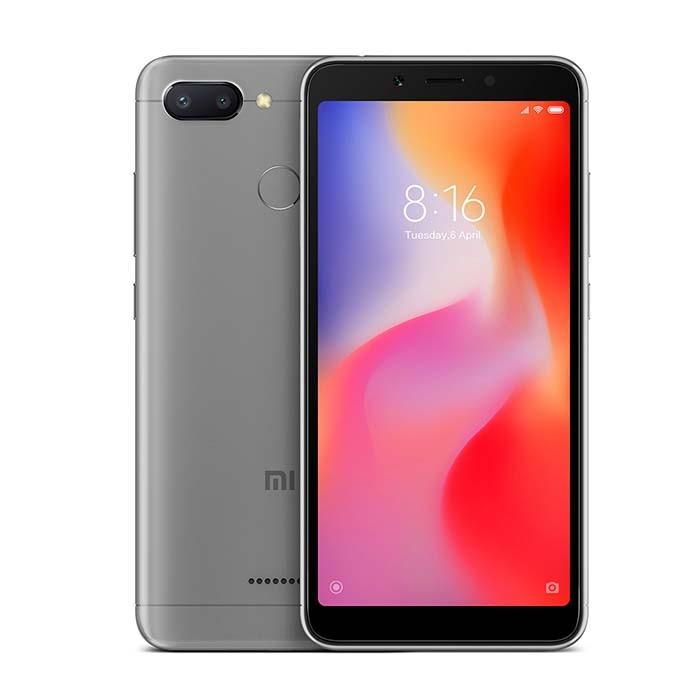 Celular XIAOMI REDMI 6 64 GB DS 4G Gris Ktronix Tienda Online