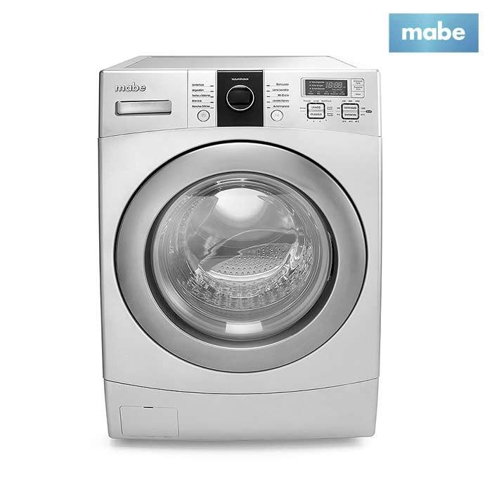 Lavadora secadora mabe 12kg lsm1105xs gris ktronix - Mueble para lavadora y secadora ...