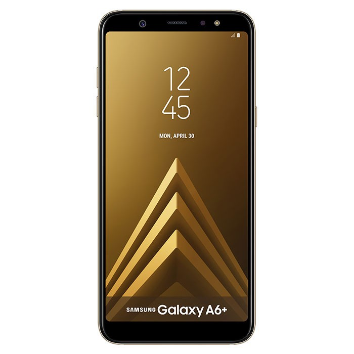 9db1f67a1e3 Celular SAMSUNG Galaxy A6 Plus DS 4G Dorado Ktronix Tienda Online