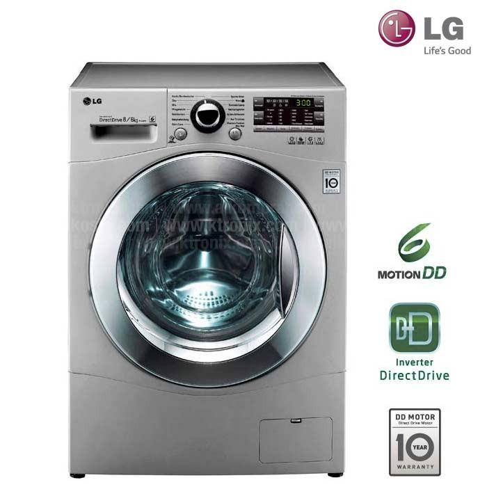 Lavadora y secadora lg 26lb wd 14a8rd5 ktronix tienda online for Cuanto pesa lavadora