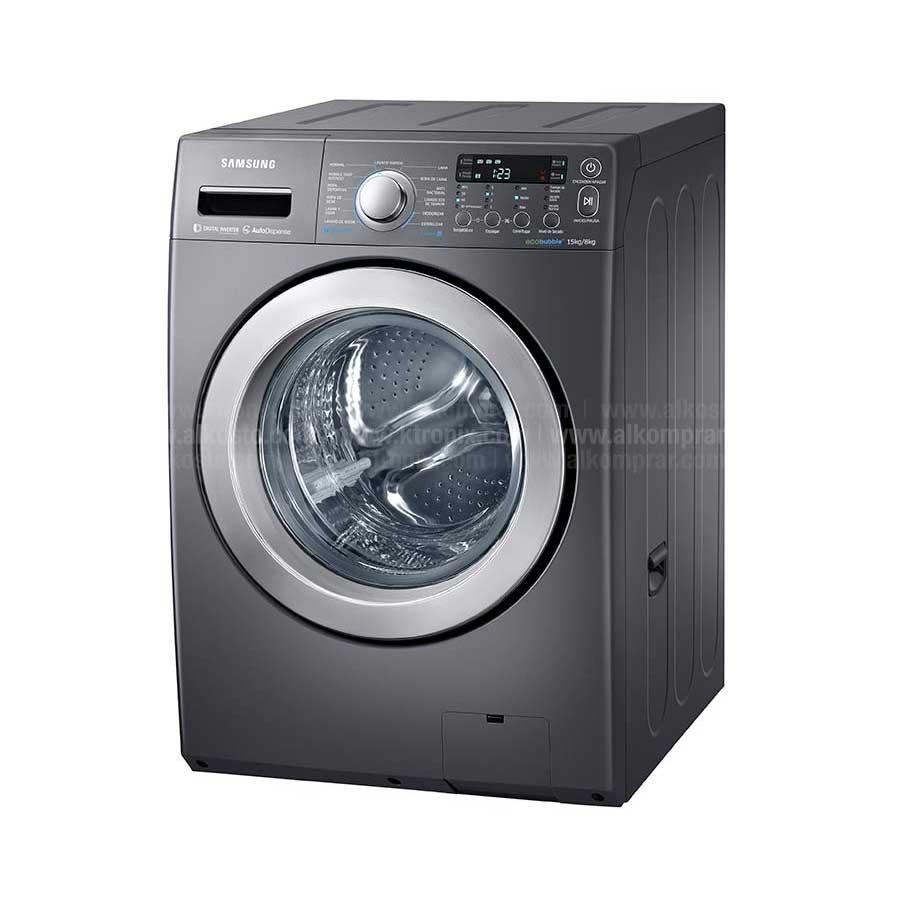 Lavadora secadora samsung 15kg wd15f5k5asg ktronix - Mueble para lavadora y secadora ...