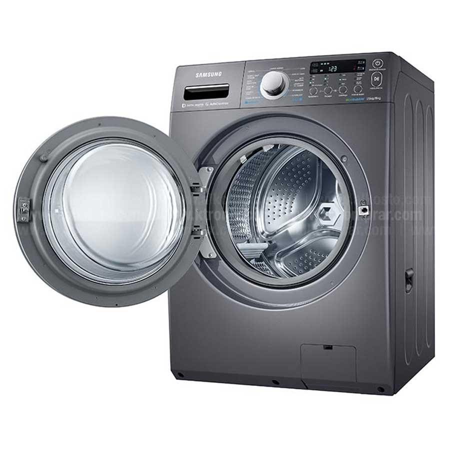 Lavadora secadora samsung 15kg wd15f5k5asg ktronix - Lavadora y secadora en columna ...