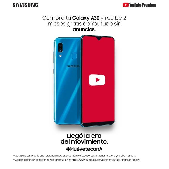 82d13b65b9d Celular SAMSUNG A30 64GB DS 4G Azul Ktronix Tienda Online