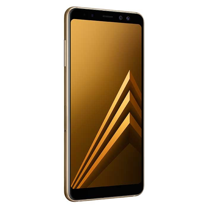 7987604562e Celular Libre SAMSUNG A8 DS Dorado 4G Ktronix Tienda Online