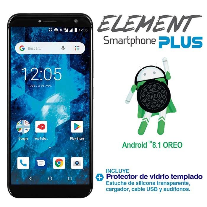 1c8f8b7b571 Celular KALLEY Element Plus DS 3G Negro Ktronix Tienda Online