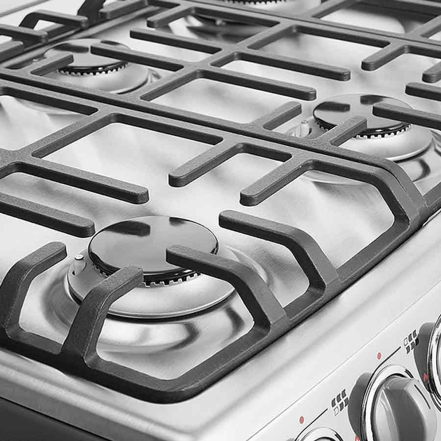 Estufa mabe 30 horno grill emc30kxx 4 ktronix tienda online - Estufa con horno ...