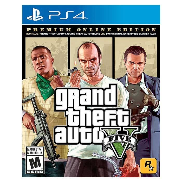 Videojuego Ps4 Gta V Premium Edition Ktronix Tienda Online