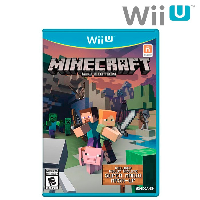 Videojuego Wii U Minecraft Mash-up pack Super Mario Bros Ktronix ...