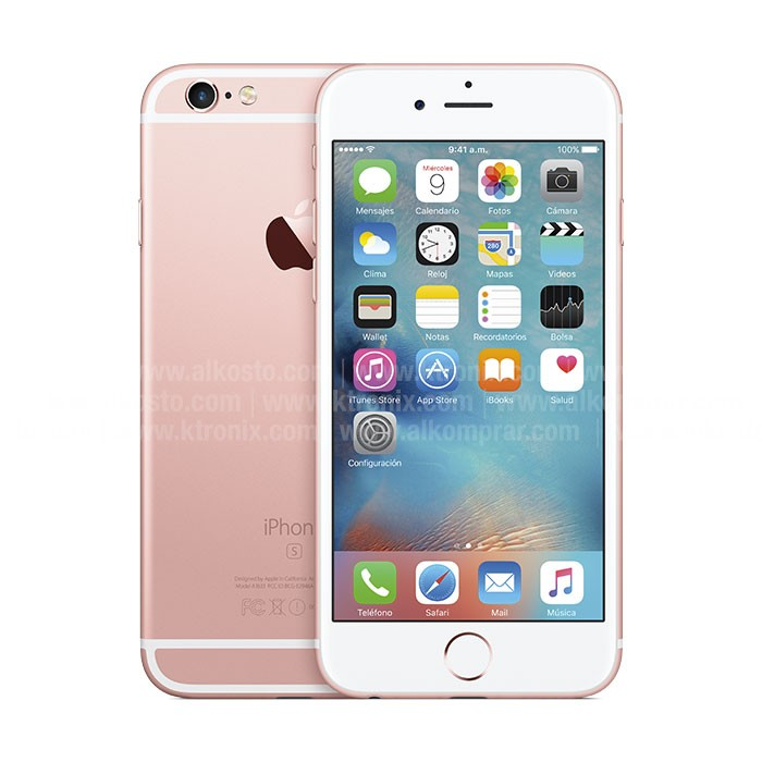 iPhone 6s 64 GB Rosado 4G Ktronix Tienda Online