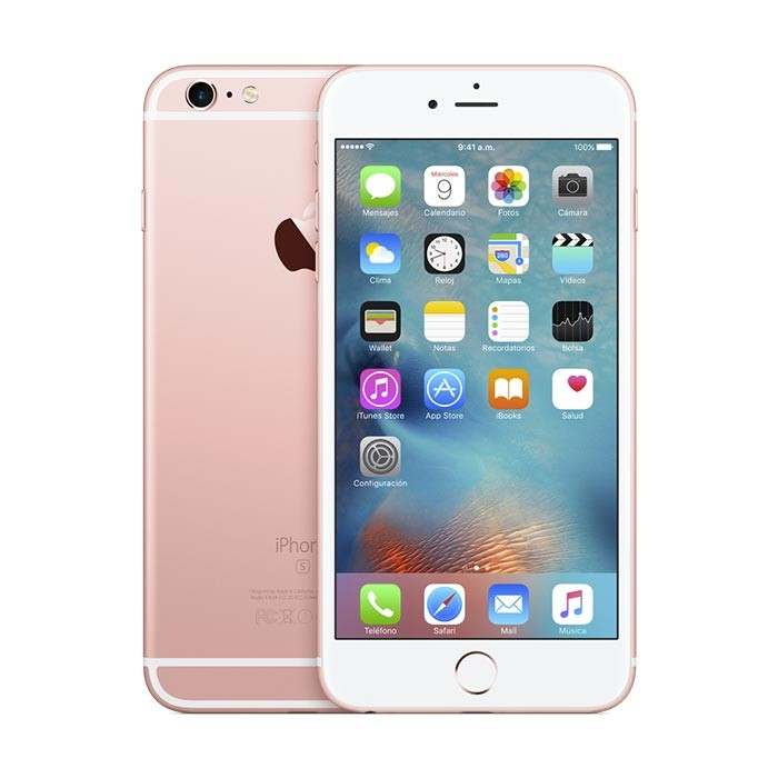 4bcc09d20 iPhone 6s Plus 128GB Rose Gold 4G Ktronix Tienda Online