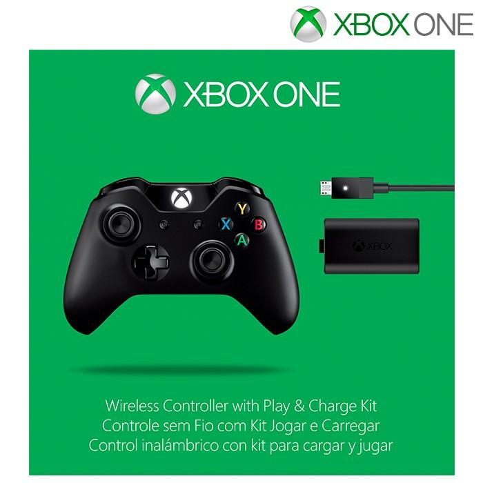 a1a902beb94 Control Inalámbrico XBOX ONE - Kit Carga y Juega Ktronix Tienda Online