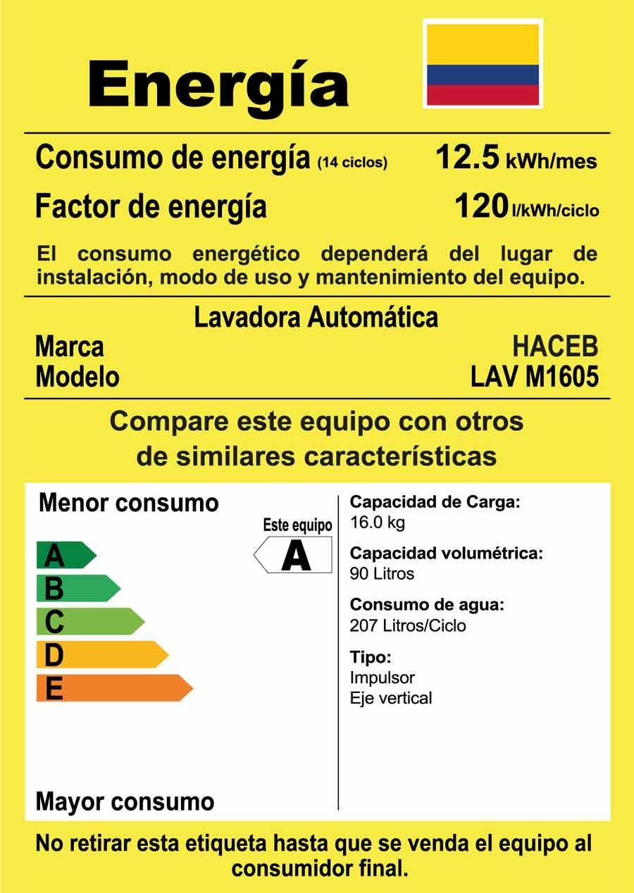 Lavadora Haceb 16kg M1605 Blanco Ktronix Tienda Online ~ Cual Es El Programa Mas Corto De La Lavadora