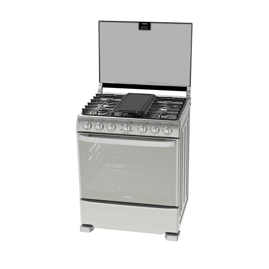 Estufa mabe em7668 hv 76cm eemx gris ktronix tienda online for Estufas de cocina de gas