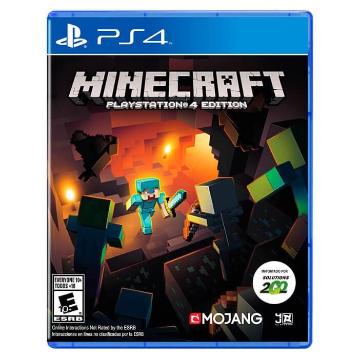 Videojuego PS4 Minecraft Ktronix Tienda Online