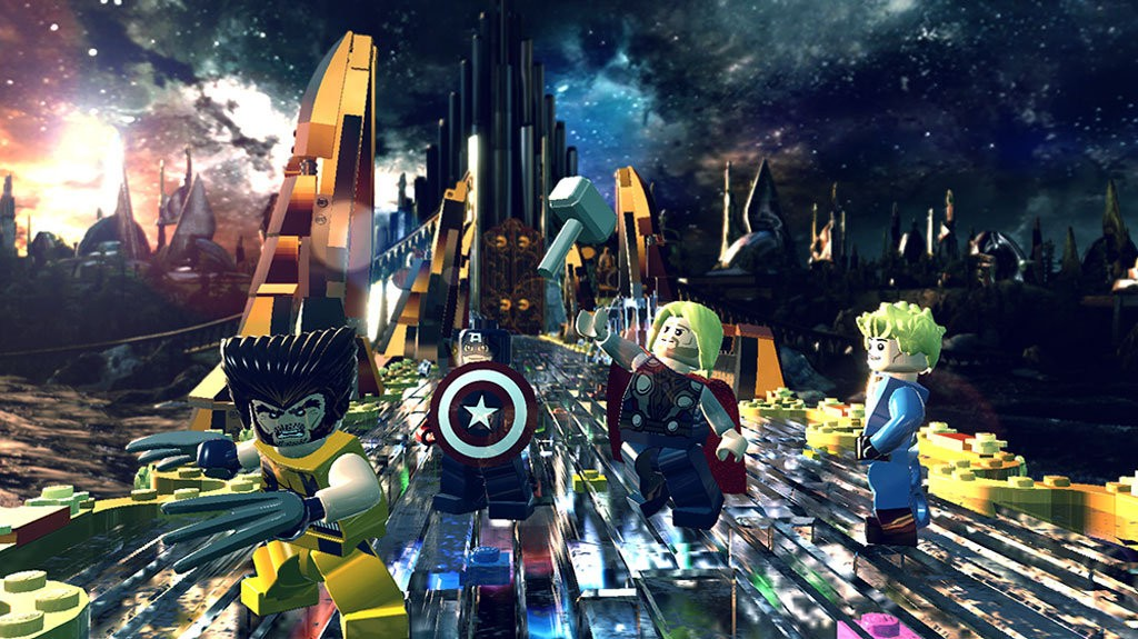 Videojuego Ps4 Lego Marvel Super Heroes Ktronix Tienda Online