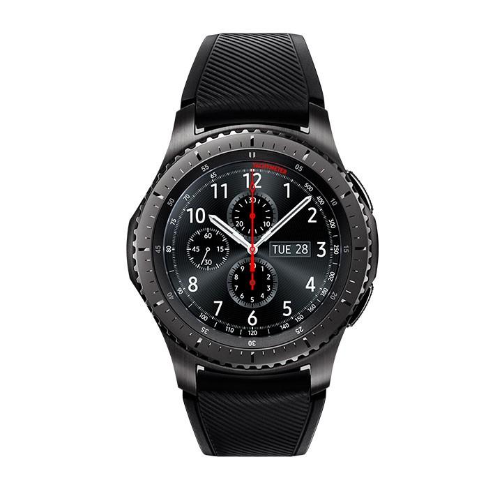 b57b48a1 Reloj SAMSUNG Gear S3 Frontier Negro Ktronix Tienda Online