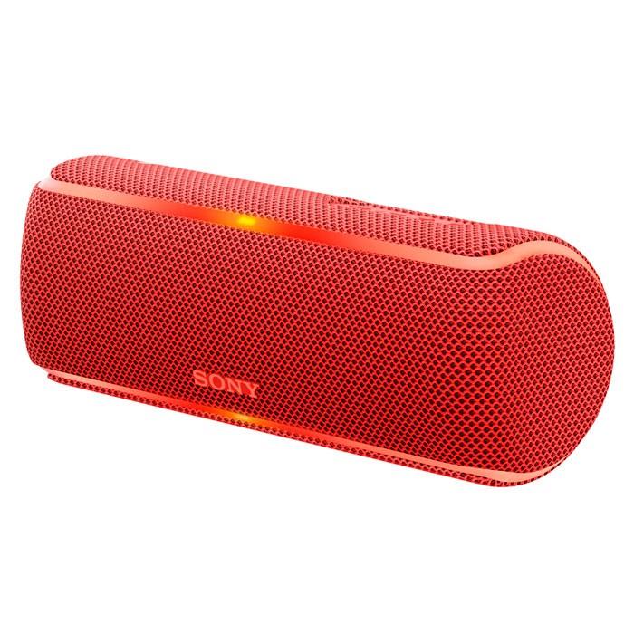 Parlante Portátil Sony Extra Bass Xb21 Con Bluetooth Rojo