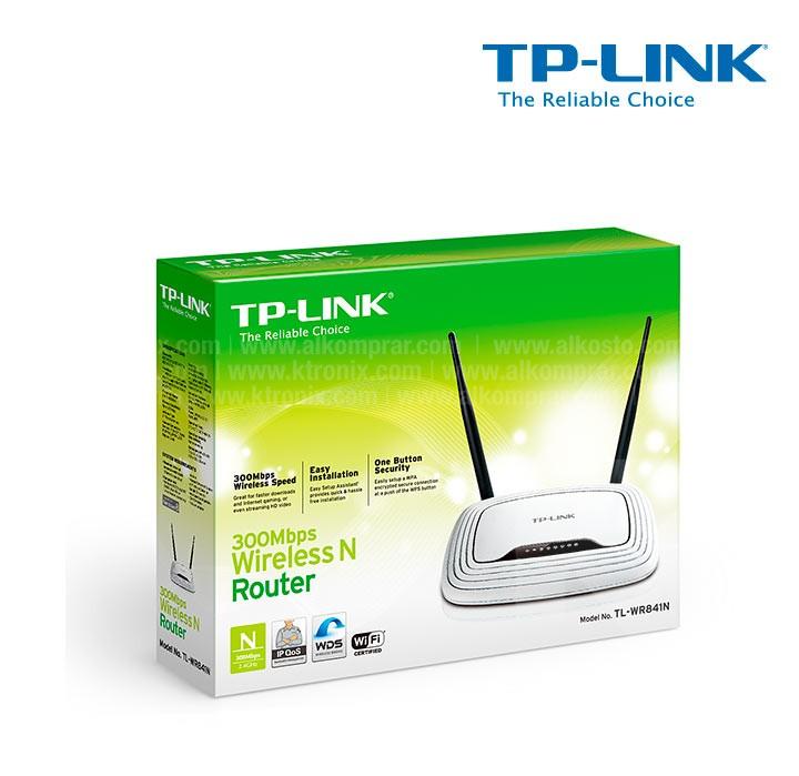 Router TP-LINK Wifi 2 Antenas 300Mbps Ktronix Tienda Online