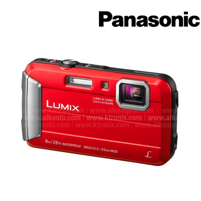 3c42370b117 Camara Sumergible PANASONIC Lumix DMC - TS30 Roja + Estuche Ktronix ...